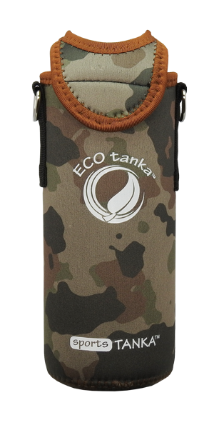 ECOtanka sports 800ml kooler cover Camo front