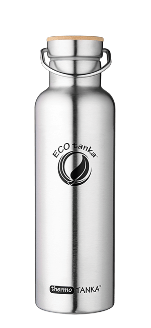 ECOtanka thermotanka 800ml with stainless steel bamboo lid