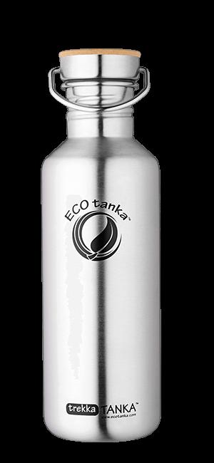 ECOtanka trekkatanka with stainless steel bamboo lid